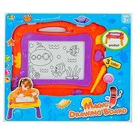 Magnetická kreslící tabulka oranžová - Kreslící tabulka