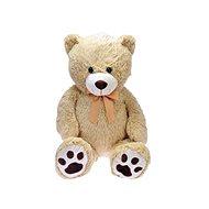 Medvěd plyšový s mašlí - Plyšový medvěd