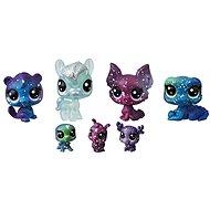 Littlest Pet Shop Kosmická zvířátka 7ks – Moon - Sada
