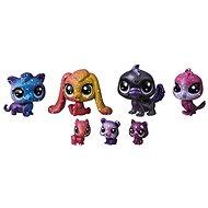 Littlest Pet Shop Kosmická zvířátka 7ks – Black Hole - Sada