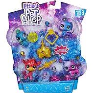 Littest Pet Shop Kosmická zvířátka 10ks - Sada figurek