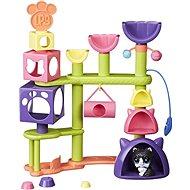 Littlest Pet Shop Kočičí domeček se zvířátkem - Herní set