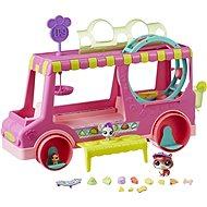 Littlest Pet Shop Cukrářský vůz s 3 zvířátky - Herní set