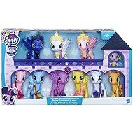 My Little Pony Prémiová kolekce 9 poníků a dráčka - Sada figurek
