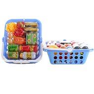 Košík s potravinami - Herní set