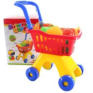 Shopping basket with fruit and vegetables - Game set