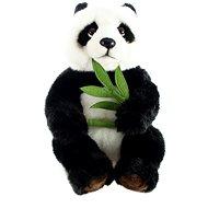 Panda s větvičkou