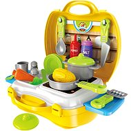 Set in the trunk cooker with accessories - playing kit