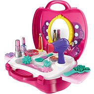 Set in a cosmetic suitcase - playing kit