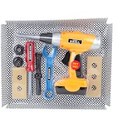 Tool set with drill - playing kit