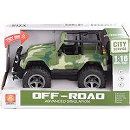 Jeep vojenský na  baterie - Auto