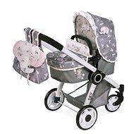 DeCuevas 80535 Folding stroller for 3 in 1 dolls with SKY 2020 backpack - Doll Stroller