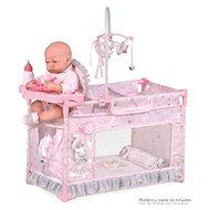 DeCuevas 53134 Moje první postýlka pro panenky s doplňky Magic Maria 2020 - Nábytek pro panenky
