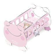 DeCuevas 55134 Dřevěná postýlka pro panenky s doplňky Magic Maria 2020 - Doplněk pro panenky