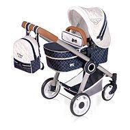 DeCuevas 80537 Folding stroller for 3 in 1 dolls with TOP Collection 2020 backpack - Doll Stroller