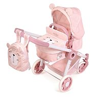 DeCuevas 80539 Folding stroller for 3 in 1 dolls with Little Pet 2020 backpack - Doll Stroller