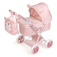 DeCuevas 85039 Skládací kočárek pro panenky s batůžkem Little Pet 2020 - Kočárek pro panenky