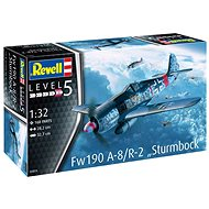 "Plastic ModelKit letadlo 03874 - Fw190 A-8 ""Sturmbock"""