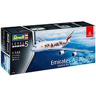 "Plastic ModelKit letadlo 03882 - Airbus A380-800 Emirates ""Wild Life"""
