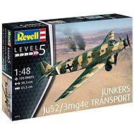 Plastic ModelKit letadlo 03918 - Junkers Ju52/3m Transport - Model letadla