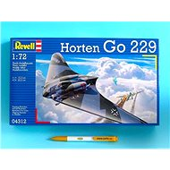 Plastic ModelKit letadlo 04312 - Horten Go-229 - Model letadla