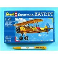 Plastic ModelKit letadlo 04676 - Stearman KAYDET - Model letadla