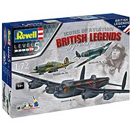 Gift-Set letadlo 05696 - 100 Years RAF: British Legends - Model letadla