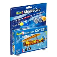 ModelSet letadlo 64676 - Stearman Kaydet - Model letadla