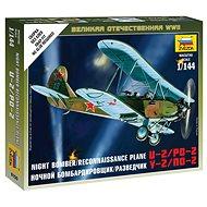 Wargames (WWII) letadlo 6150 - Soviet Plane PO-2 - Model letadla