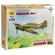 """Wargames (WWII) letadlo 6173 - British Fighter """"Hurricane Mk-1"""" - Model letadla"""