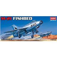 Model Kit letadlo 12442 - M-21 FISHBED - Model letadla