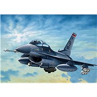 Model Kit aircraft 0188 - F-16C / D Night Falcon - Model Airplane
