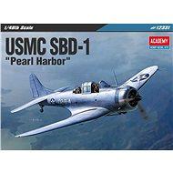 """Model Kit letadlo 12331 - USMC SBD-1 """"Pearl Harbor"""" - Model letadla"""