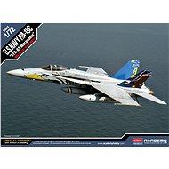 "Model Kit letadlo 12534 - F/A-18C U.S Navy Vfa-82 ""Marauders"" Le: - Model letadla"