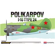 Model Kit letadlo 12314 - Polikarpov I-16 Type 24 LE: - Model letadla