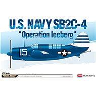 "Model Kit letadlo 12545 - U.S.Navy SB2C-4 ""Operation Iceberg"" LE: - Model letadla"