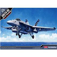 "Model Kit letadlo 12547 - Usn F/A-18E Vfa-143 ""Pukin Dogs"" - Model letadla"