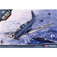 "Model Kit letadlo 12324 - SB2U-3 ""Battle of Midway"" - Model letadla"