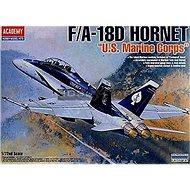 "Model Kit letadlo 12422 - F/A 18D Hornet ""Us Marines"" - Model letadla"