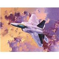 Model Kit letadlo 12423 - F-22A Air Dominance Fighter - Model letadla