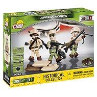 Cobi 3 figurky s doplňky Afrika Korps - Stavebnice