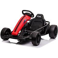 Driftovací motokára DRIFT-CAR 24V, červená