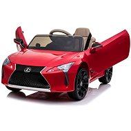Lexus LC500, červené