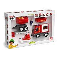 Igráček MULTIGO – hasičský set - Sada autíček