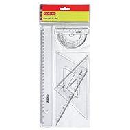 Herlitz Geometry Set - 4 pieces - Ruler