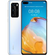 Huawei P40 bílá - Mobilní telefon