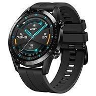 Huawei Watch GT 2 Black Fluoroelastomer Strap - Chytré hodinky