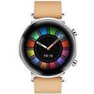 Huawei Watch GT 2 42 mm Khaki Leather  - Chytré hodinky