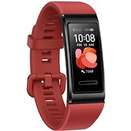 Huawei Band 4 Pro Cinnabar, Red - Fitness Bracelet