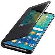 Huawei Original S-View Black pro Mate 20 Pro - Pouzdro na mobilní telefon